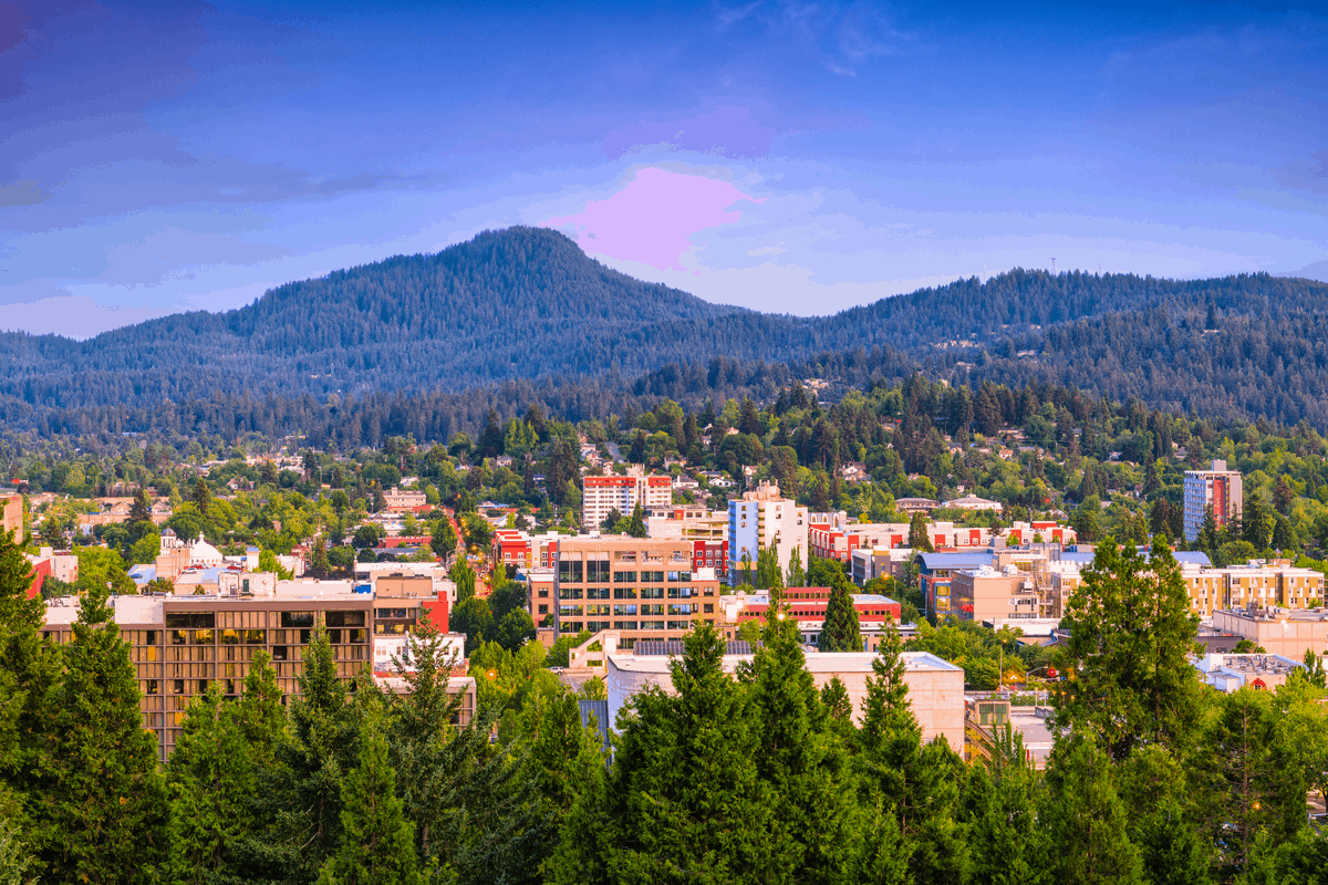 eugene oregon is our home