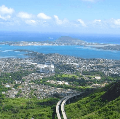 kaneohe hawaii skyline